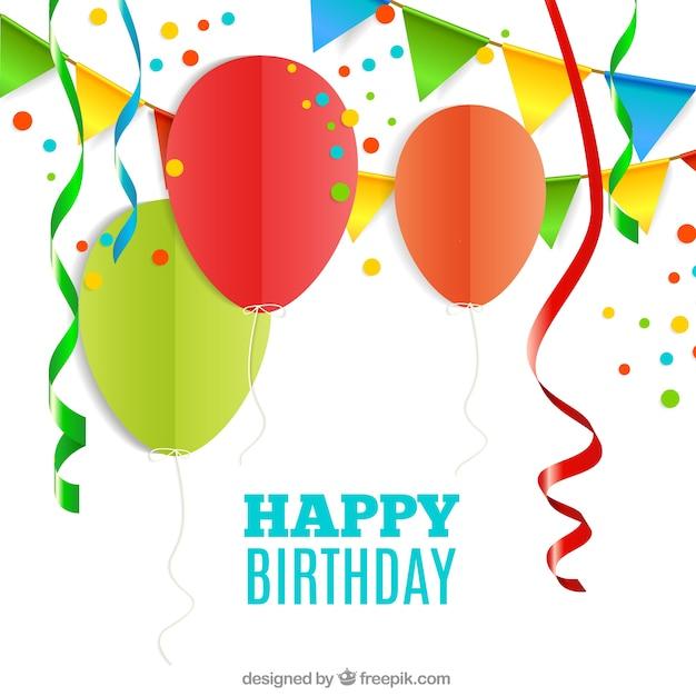 Lustige Geburtstagskarte | Download der kostenlosen Vektor