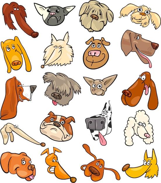 Hunde Karikatur