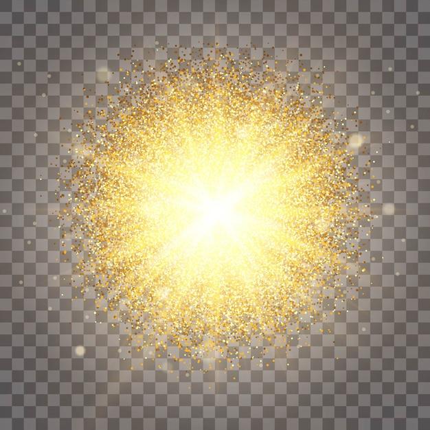 Luxuriöses design reichen hintergrund. die wirkung von sonnenlichtbeleuchtung. luxus Premium Vektoren
