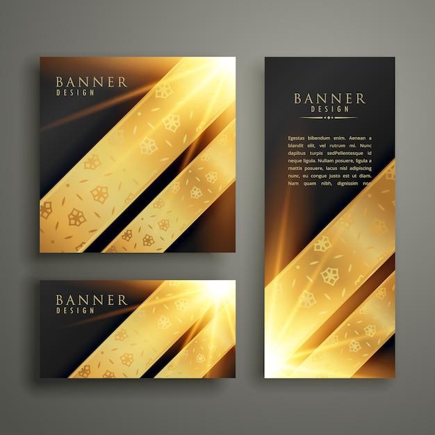 Luxus Einladung Banner Kartenvorlage Design | Download der ...