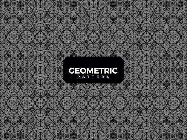 Luxus geometrisches muster Premium Vektoren