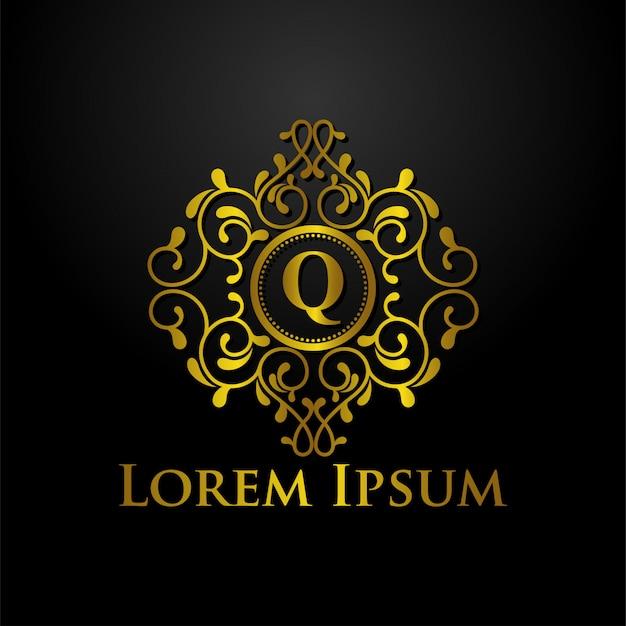 Luxus-logo-vorlage Premium Vektoren