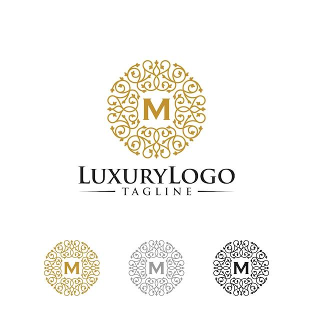 Luxus-logo-vorlagen Premium Vektoren