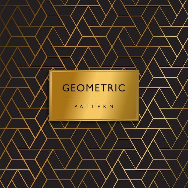 Luxus premium muster design geometrisch Premium Vektoren