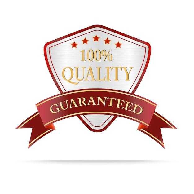 Luxus-schilder in silber- und rot-qualität Premium Vektoren