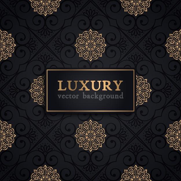 Luxus-Vektor-Muster Kostenlose Vektoren