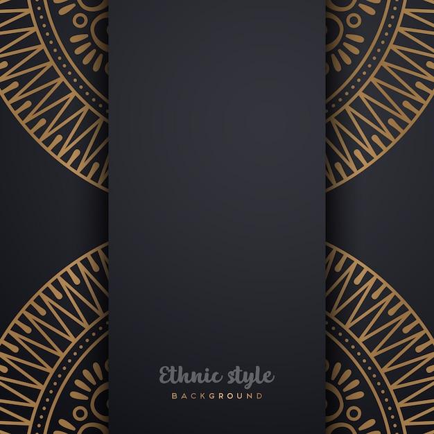 Luxusdesign im arabischen stil Kostenlosen Vektoren