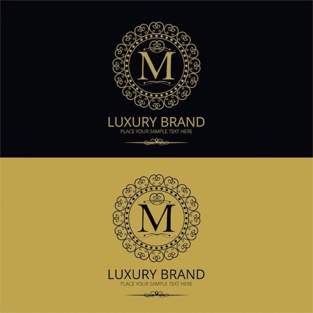 Luxusmarkenlogo Kostenlosen Vektoren