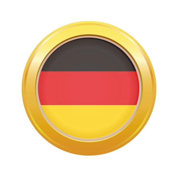 Made in germany abzeichen Premium Vektoren