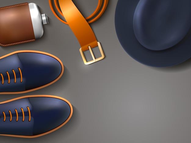 Männer mode konzept illustration Kostenlosen Vektoren