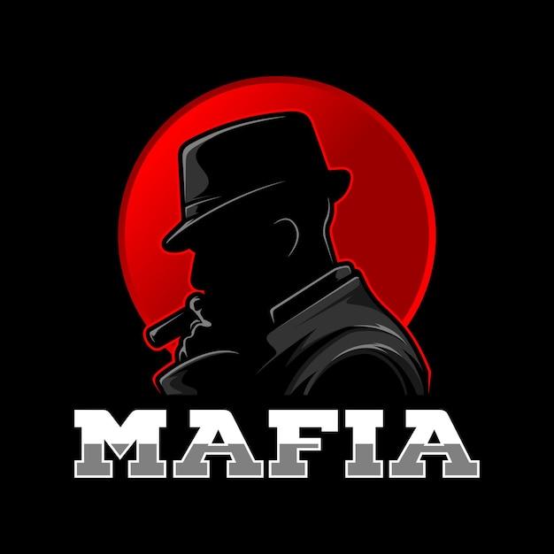 Mafia-logo Premium Vektoren