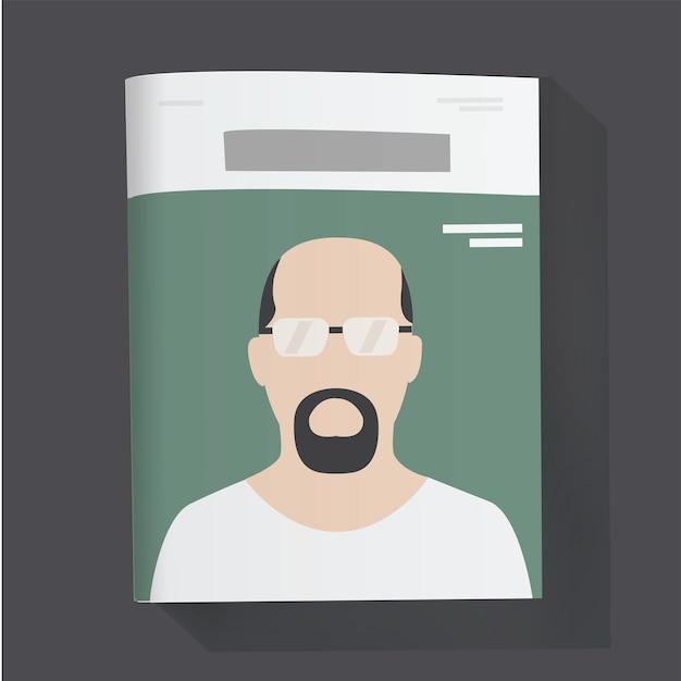 Magazin nachrichten artikel illustration Kostenlosen Vektoren