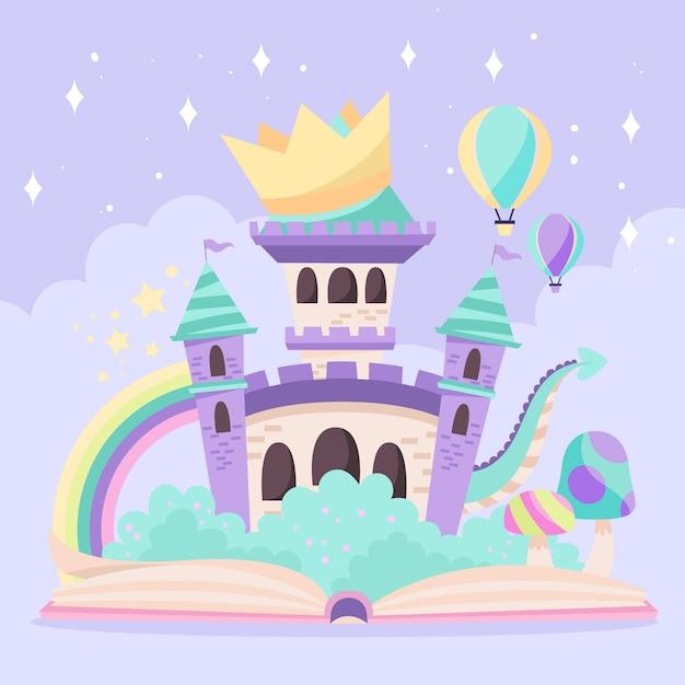 Magisches märchenkonzept Kostenlosen Vektoren