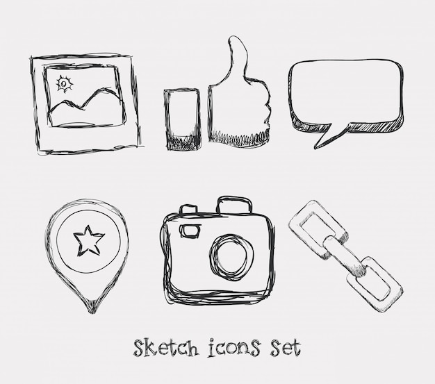 Manager icons design Premium Vektoren