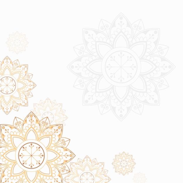 Mandala-abbildung Kostenlosen Vektoren