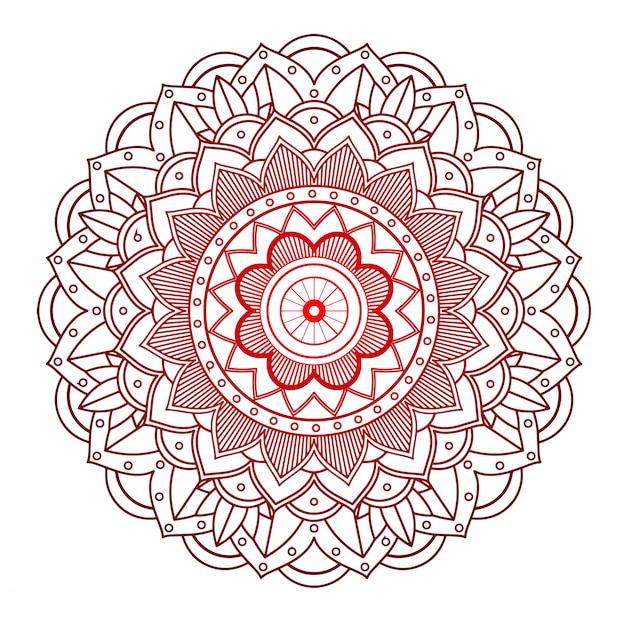 Mandala-design Kostenlosen Vektoren