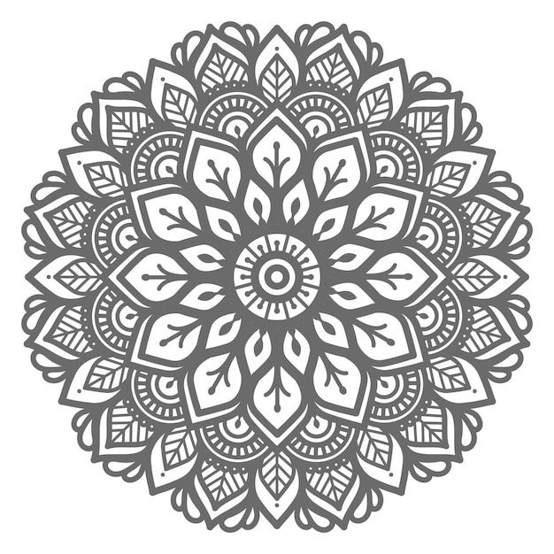 Mandala-illustration für abstraktes und dekoratives konzept Premium Vektoren