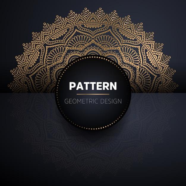 Mandala nahtloses muster. vintage dekorative elemente muster Kostenlosen Vektoren
