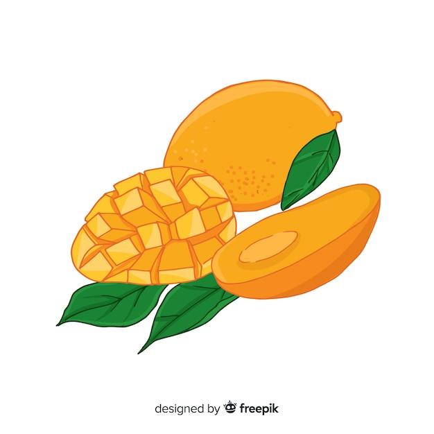 Mangos Kostenlosen Vektoren