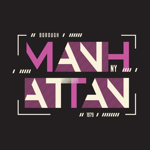 Manhattan new york Premium Vektoren