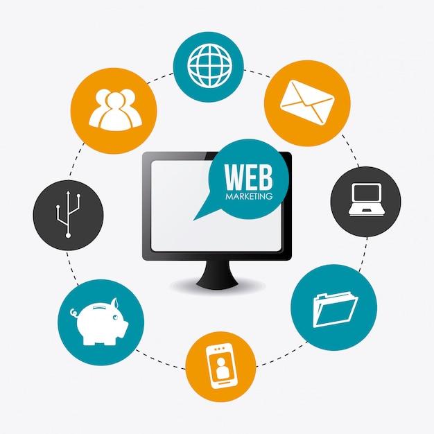 Marketing-design Premium Vektoren