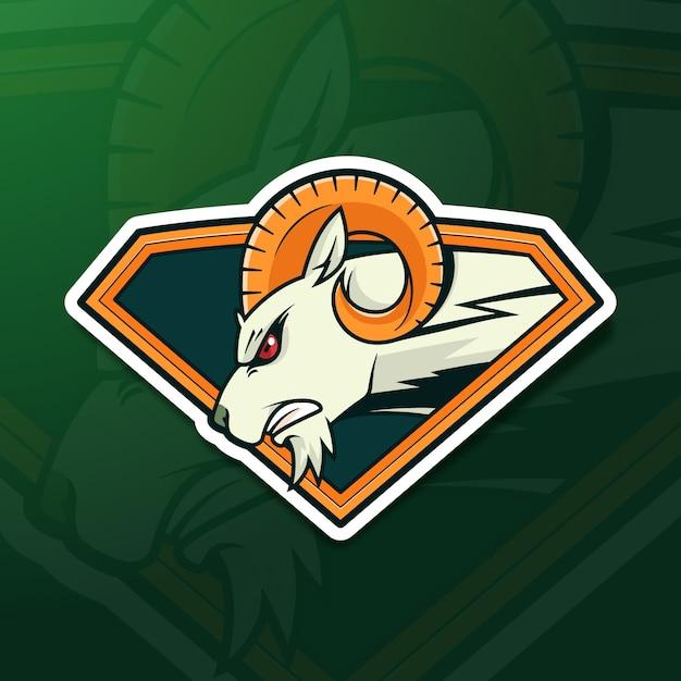Maskottchen-logo-konzept Premium Vektoren