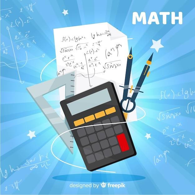 Math hintergrund Kostenlosen Vektoren