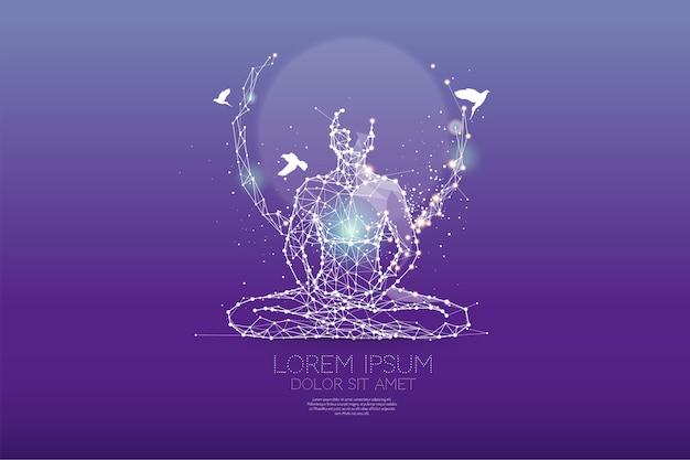 Meditation Premium Vektoren