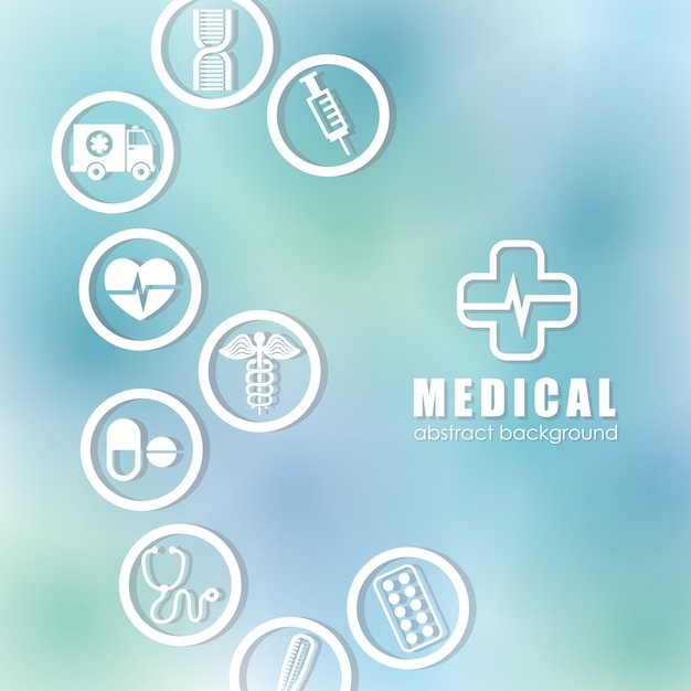 Medizinische gesundheitsgraphik Premium Vektoren