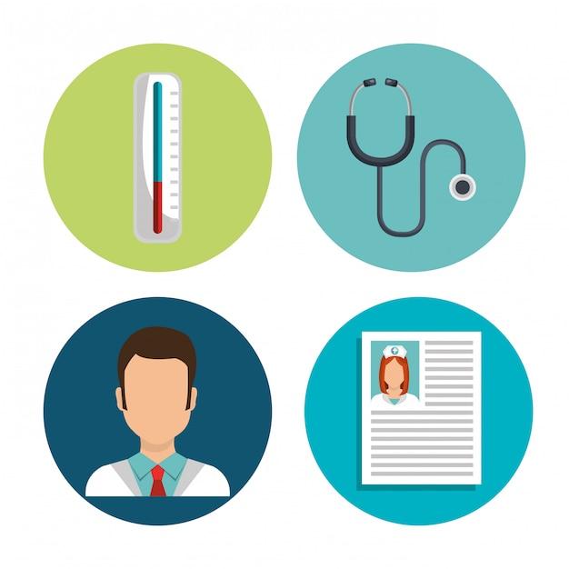 Medizinische gesundheitsversorgung Kostenlosen Vektoren