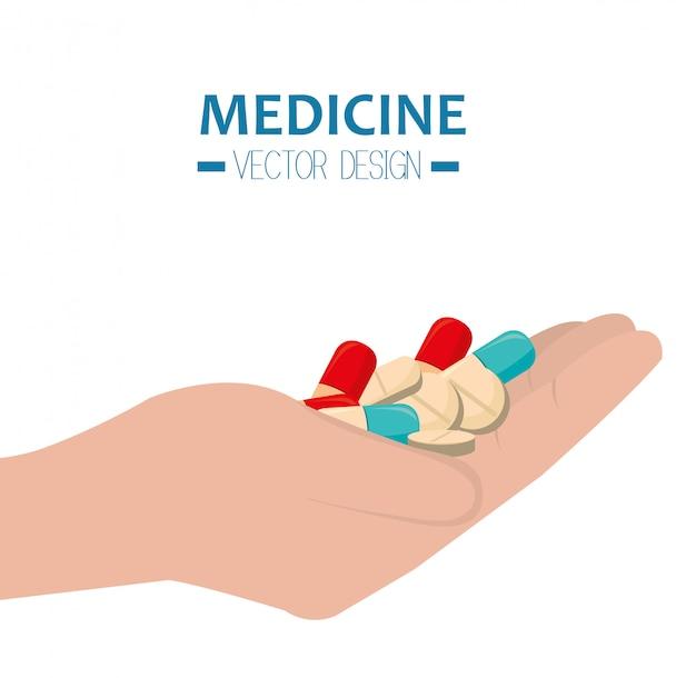 Medizinische gesundheitswesen grafik Premium Vektoren