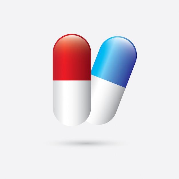 Medizinische symbole Premium Vektoren
