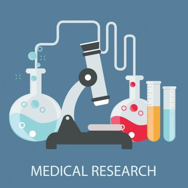 Medizinischer hintergrund design Kostenlosen Vektoren