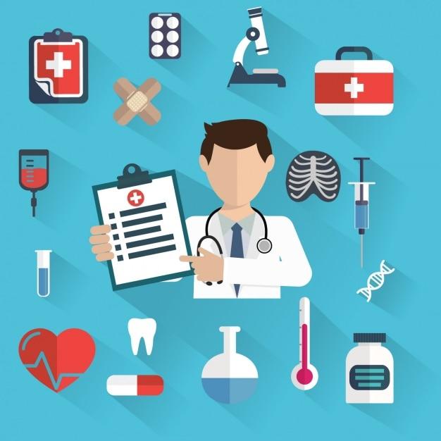 Medizinischer hintergrund design download der for Meine wohnung click design download