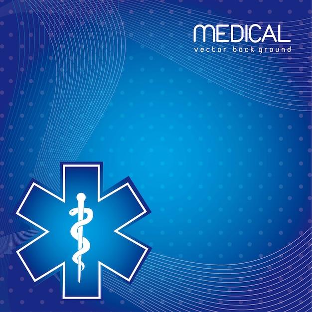 Medizinischer hintergrund Premium Vektoren