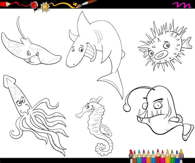 Großartig Meer Färbung Seite Ideen - Dokumentationsvorlage Beispiel ...