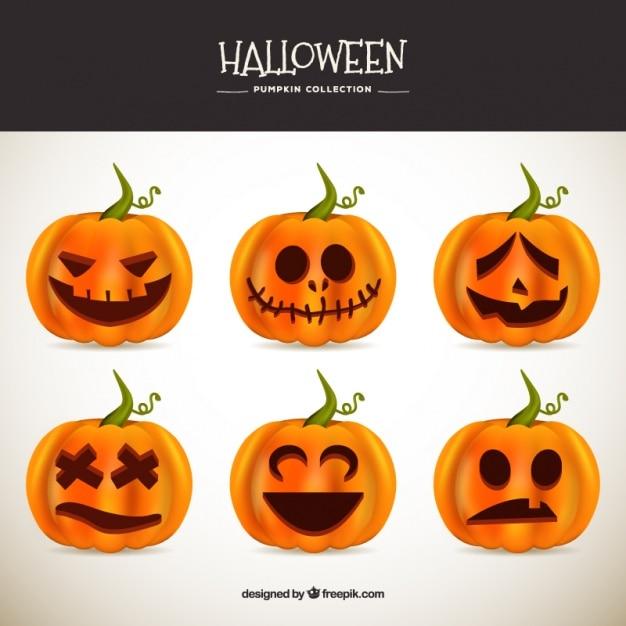 mehrere gro e k rbisse halloween zu feiern download der. Black Bedroom Furniture Sets. Home Design Ideas