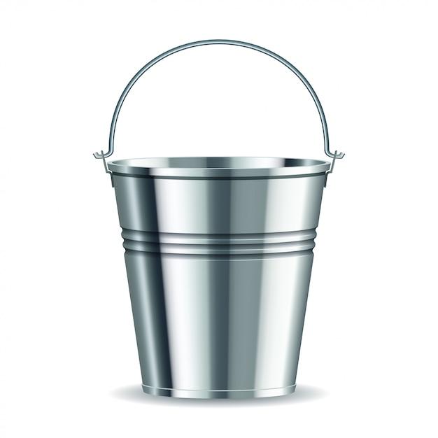 Metalleimer Premium Vektoren