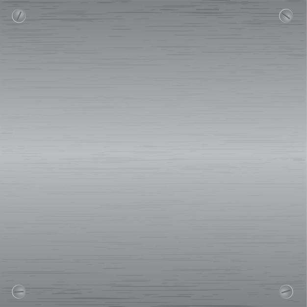 Metallplatte glänzendes texturmuster Premium Vektoren