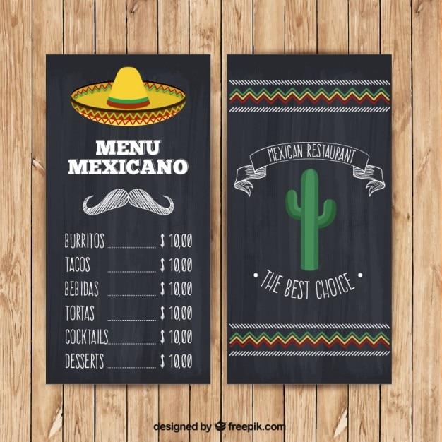 Mexikanische Men 252 Mit Hut Und Kakteen In Der Tafel Stil