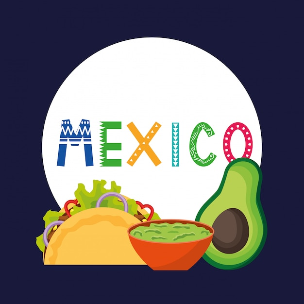 Mexiko cinco de mayo-karte Premium Vektoren