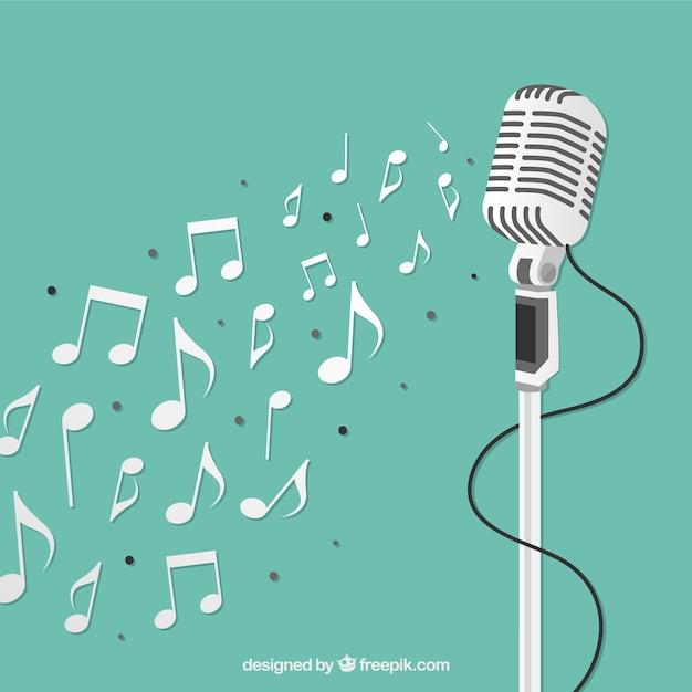Mikrofon Kostenlosen Vektoren