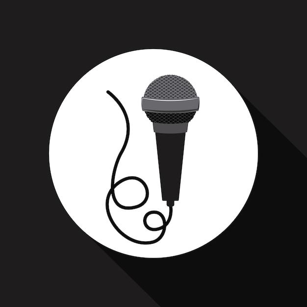 Mikrofonsymbol | Download der Premium Vektor