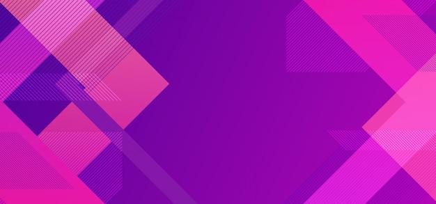 Minimaler geometrischer hintergrund mit linien dreieckminimalist Premium Vektoren