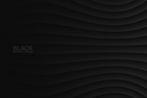Minimalistische schwarze klare leere subtile geometrische Premium Vektoren