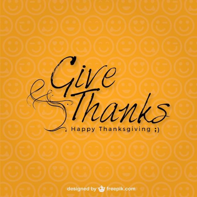 Minimalistischen thanksgiving day typografie download for Was ist ein minimalist