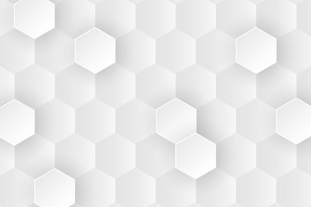 Minimalistisches bienenwabenhintergrunddesign der nahaufnahme Kostenlosen Vektoren
