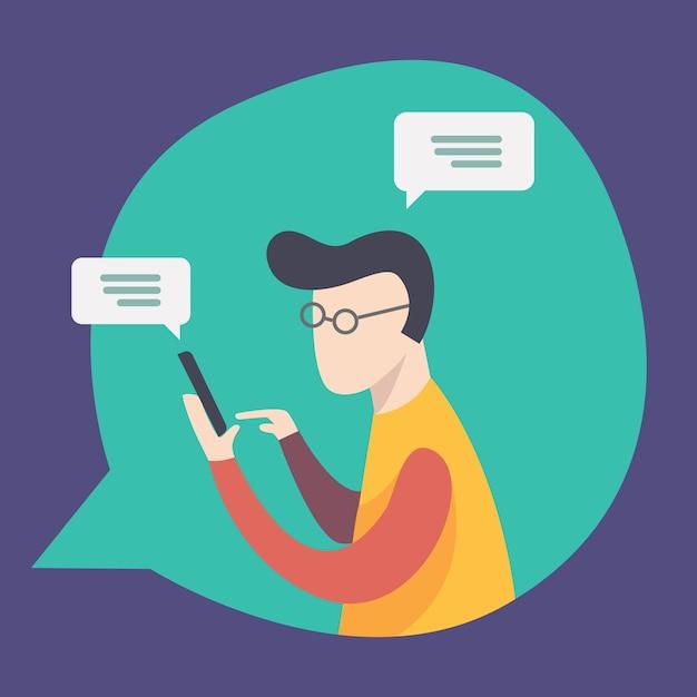 Netzwerk Chat