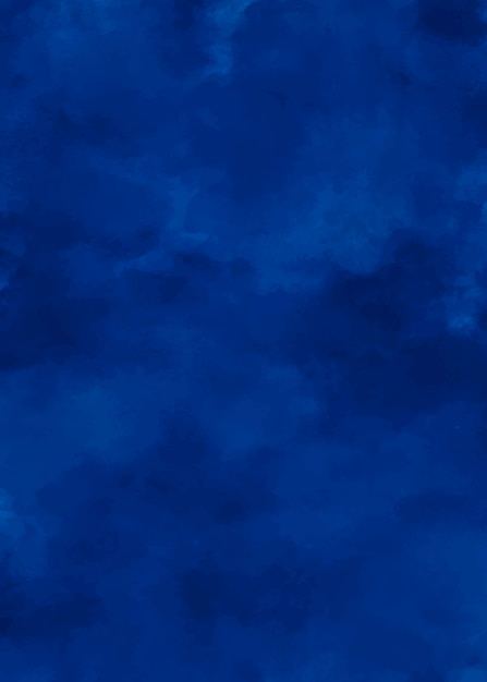 Mitternachtsblau eleganter aquarellhintergrund Kostenlosen Vektoren