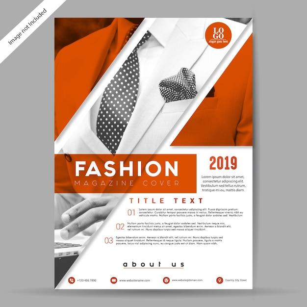 Mode-broschüre / flyer-vorlage Premium Vektoren